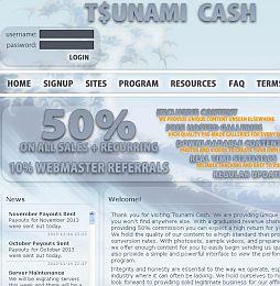 Tsunami Cash Adult Affiliate Program