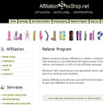 AffiliationSexShop Adult Affiliate Program