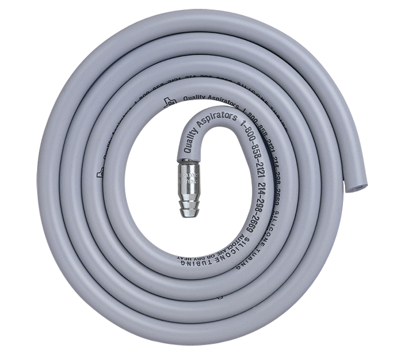 5ft Tubing Adapter Set eliminates the weight of the HVE valve and tubing when using a surgical suction