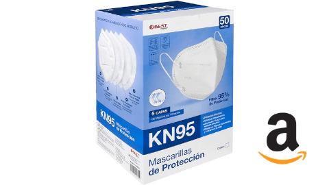 Cubrebocas KN95 - Tarjeta de beneficios Quality Assist