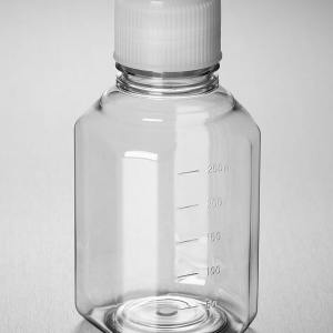 Corning PET Media Bottle, 250 mL, Graduated, Sterile