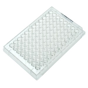 CELLTREAT 96 Well Plate, Round Bottom, No Lid