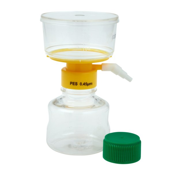 CELLTREAT 250ml filter system with 0.45μm PES filter