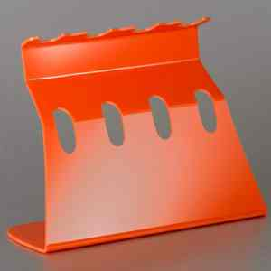 Universal Single Channel Pipettor Stand in Orange