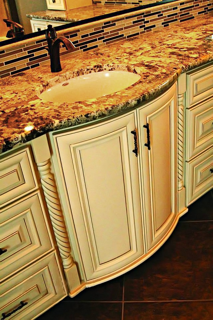 Quality Cabinets NJ  Cream Maple Glaze