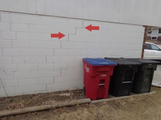 Quality Foundation Repair - The stair step pattern is a sign your home needs its foundation repaired
