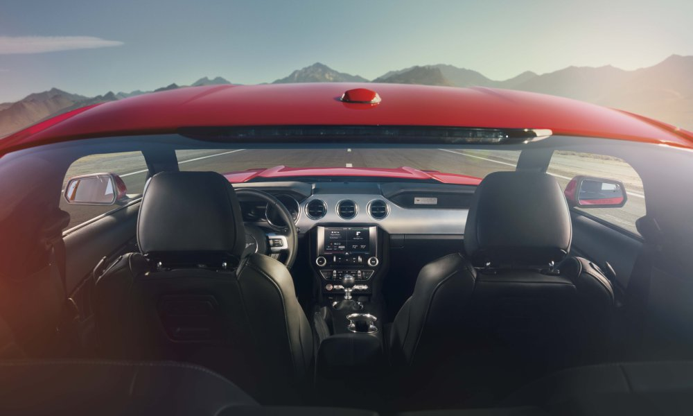 Speedy and Smart: The 2015 Mustang Offers an Incredible Lineup of Innovative Technologies and Performance Features