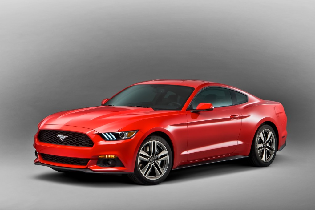 All-New 2015 Ford Mustang In Showrooms Next Month