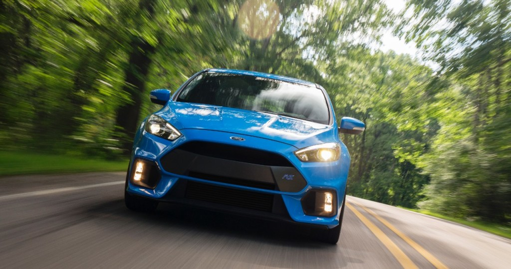 FOCUS RS ENGINEERS DROP THE HAMMER: HOT HATCH BUYERS TO GET MONSTROUS OUTPUT OF 350 HORSEPOWER, 350 LB.-FT.