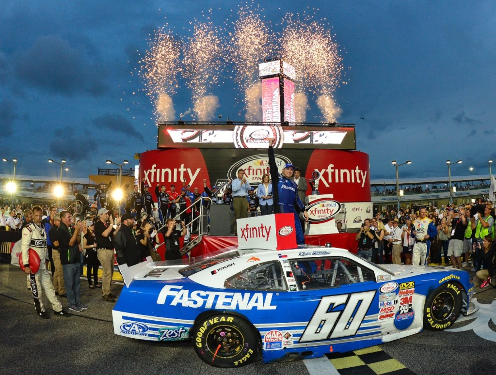 Mustang Brings Homes the NASCAR XFINITY Series Title