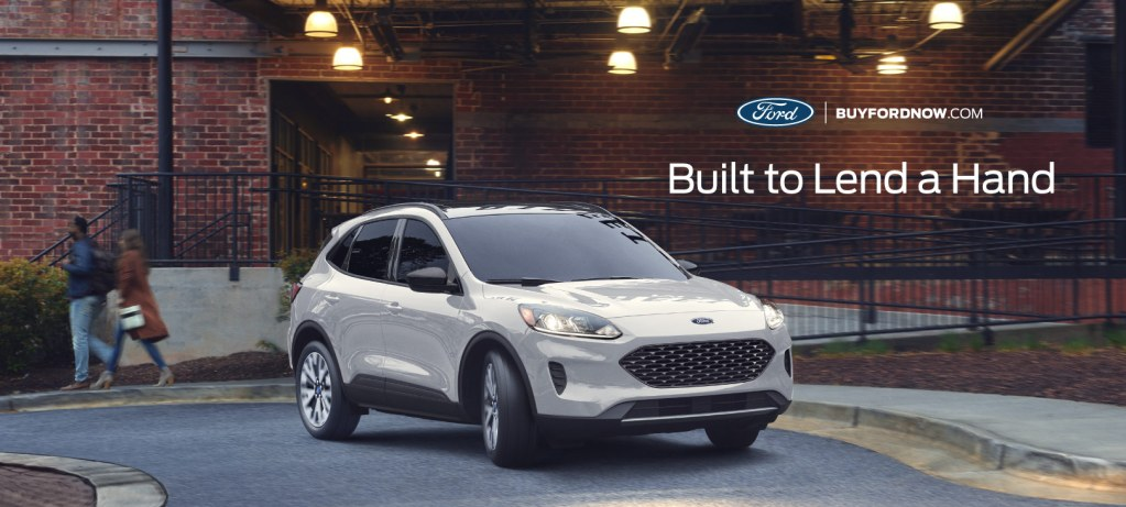 Ford Motor Company is Built to Lend a Hand