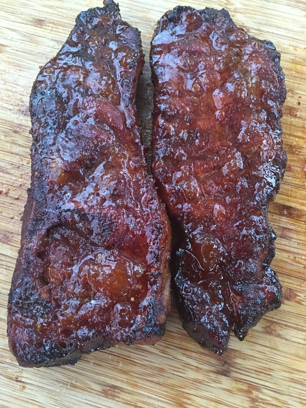 Smoked Country Style Ribs Glazed, Sauced And Explained
