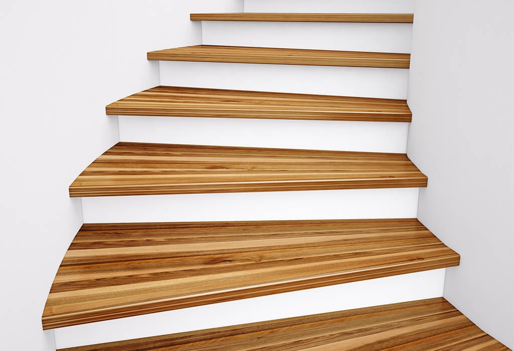 Stair Treads Risers Quality Hardwood Floors   Wood Stair Treads And Risers