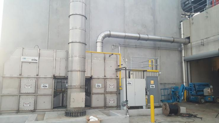 waste heat recovery installation