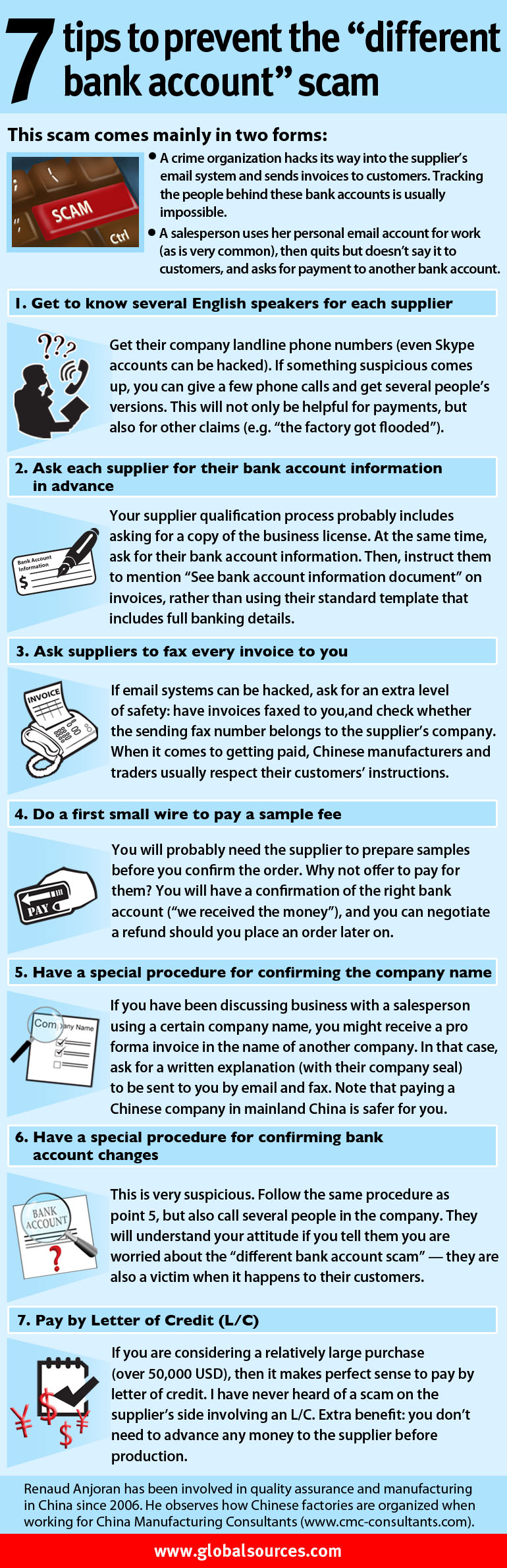 7 Tips To Prevent The Different Bank Account Scam Qualityinspection Org