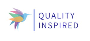 quality inspired logo