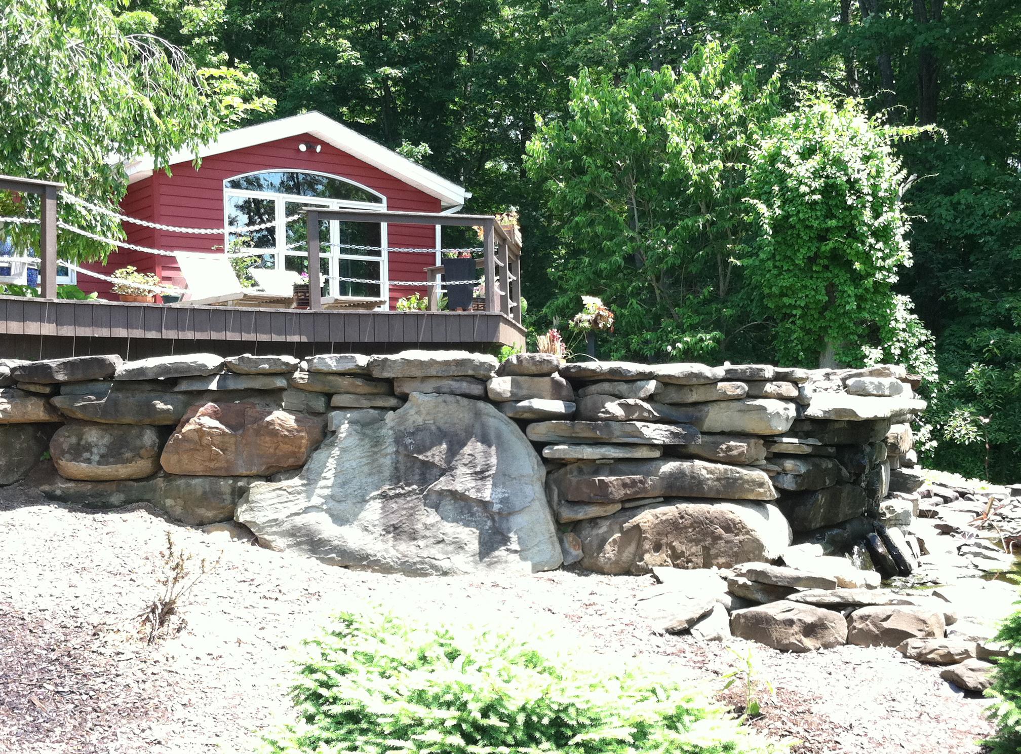 Custom Stone Fountain Buffalo NY