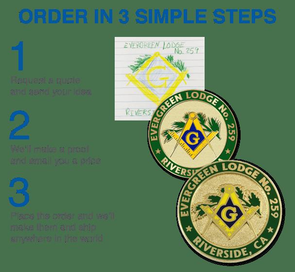 Order Club Pins