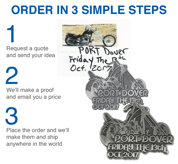 motorcycle pins