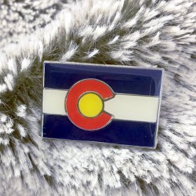 Colorado Flag Pin