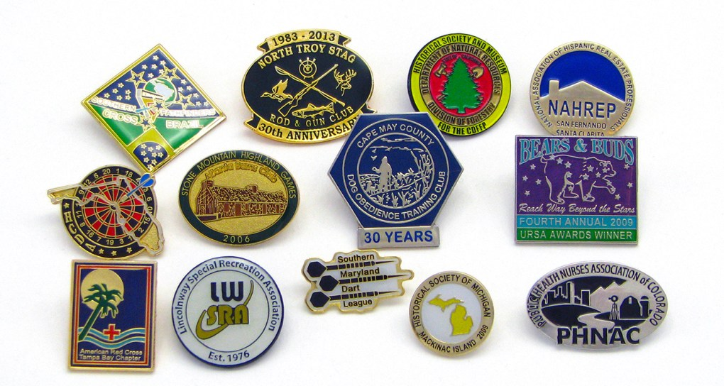 Club Pin Examples
