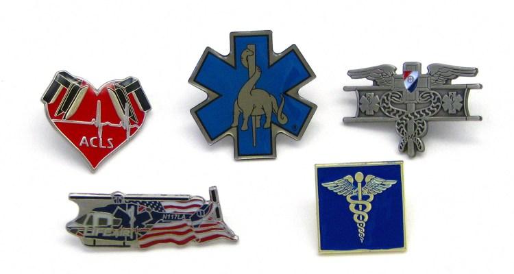 Police Fire EMT Pins