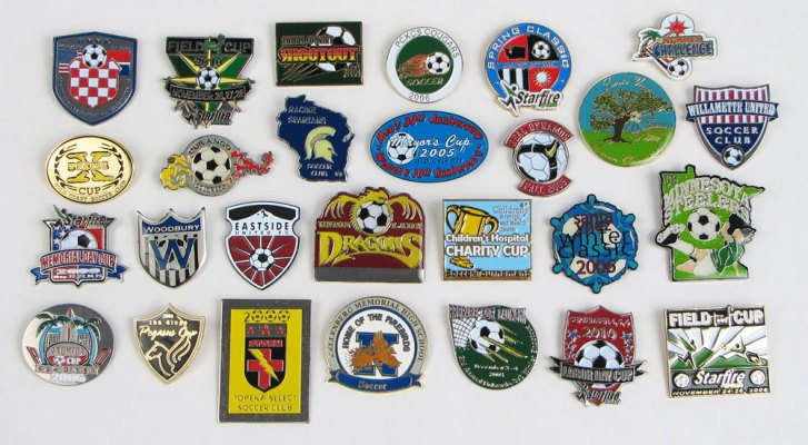 Soccer Pins