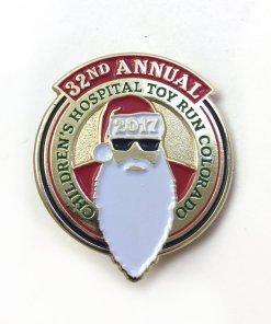 2017 Toy Run Pin