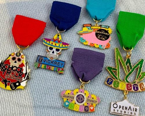 custom fiesta medals 2