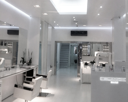 Quality Leds  Quality LEDs  Proyectos  Peluqueria Blanch