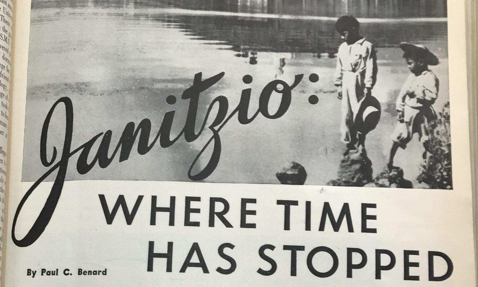 Janitzio headline image