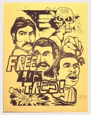 Free Los Tres Poster
