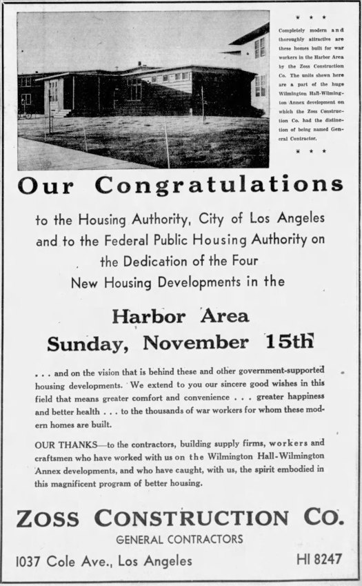 Housing Projects Ad