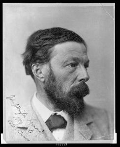 John Addington Symonds photo presented to Whitman