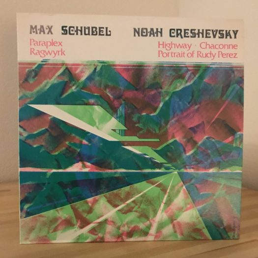 Creshevsky LP cover