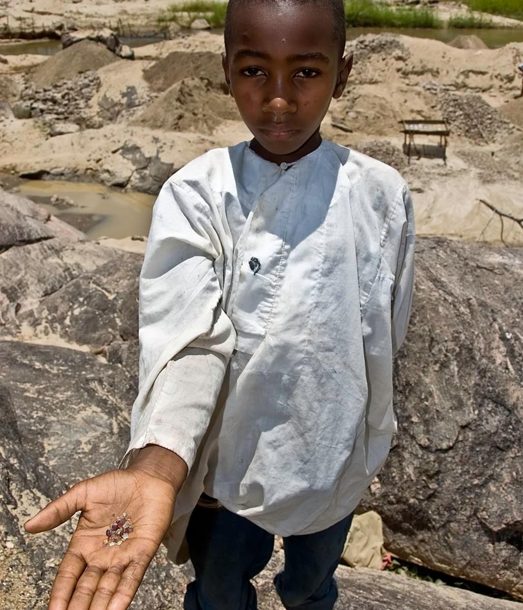 Boy in Tanzania