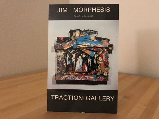 Jim Morphesis Cruciform Paintings Postcard