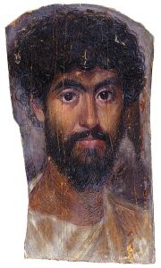 Mummy Portrait of a Bearded Man
