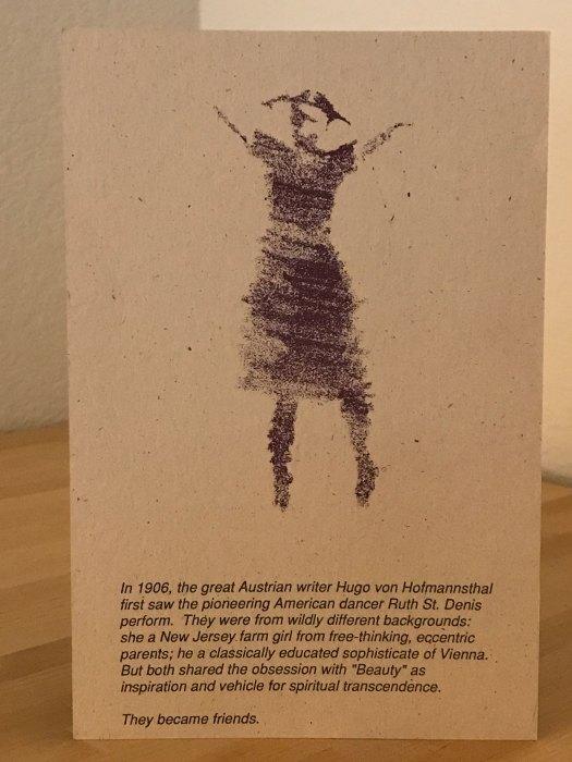 Rudy Perez Postcard 1992