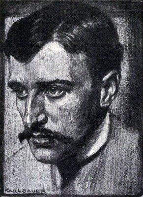 Hugo von Hofmannsthal by Karl Bauer