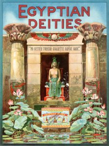 Egyptian Deities Cigarettes Poster