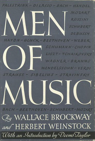 Men Of Music dust jacket image