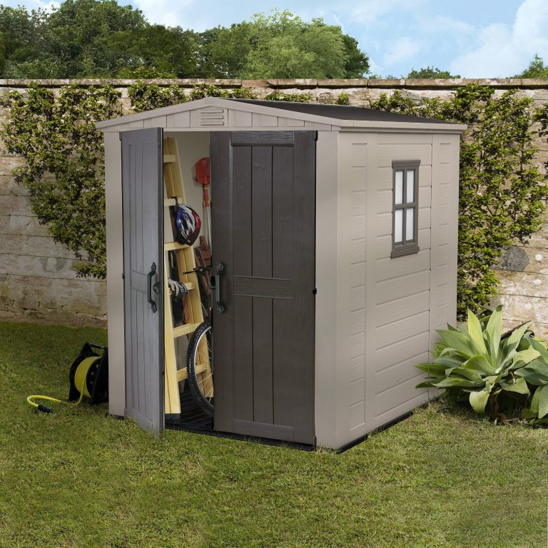 6 x 6 Storage Shed  Quality Plastic Sheds
