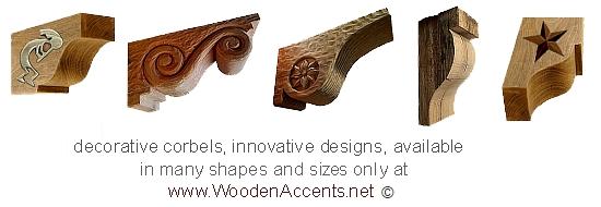 Decorative Wood Products  Mantels  Corbels  Brackets