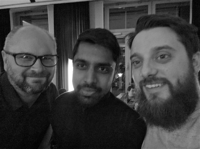 Agile TD 2016 with Santosh Tuppad and Richard Bradshaw; Potsdam, Germany