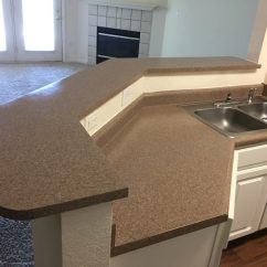 Refinish Kitchen Countertop Tall Bags Size Resurfacing Quality Restoration