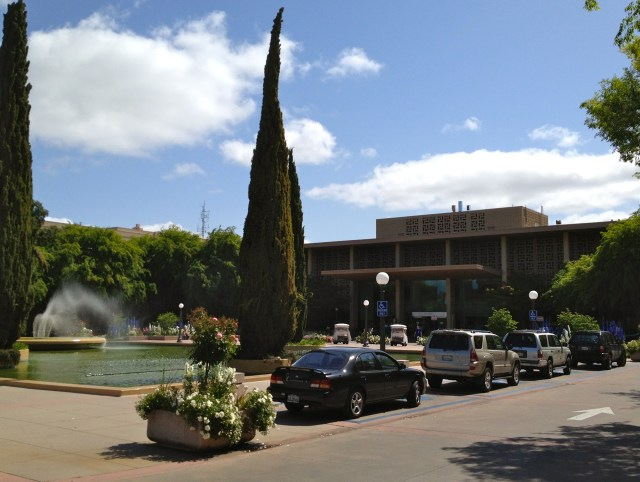 The (soon-to-change) Main Entrance of Stanford Hospital