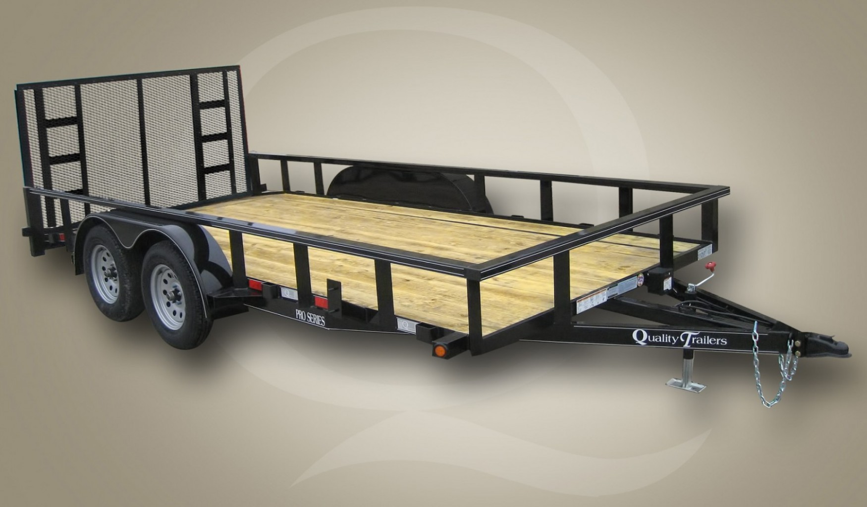 hight resolution of tandem axle trailers