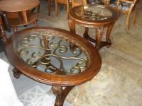 Gorgeous Ashley Furniture Norcastle Oval Coffee Table ...