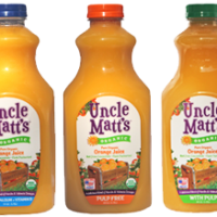 Uncle Matt's OJ: Better Than Tropicana, Guaranteed American